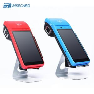 China Android 7.0 Wifi Smart Payment Wireless Mobile Pos Terminal Point Of Sale System With Printer on sale