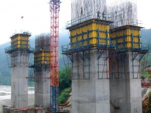 China T - beam steel Convenient Efficient Bridge Deck Formwork for shuttering on sale