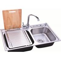 Rectangle Stainless Steel Sink Bowl / Single Bowl Undermount Sink With Brushed Finish