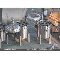 China Multi bags Bag high pressure Filter Housing / filter cartridge housing on sale