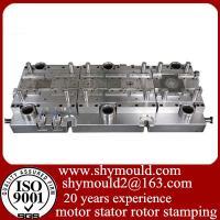 Motor stator rotor press tool