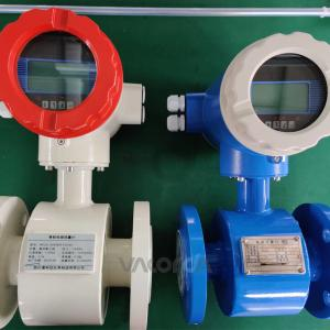 China Tri - Clamp Lpg Itron Water Electromagnetic Flow Meter Agricultural Using on sale