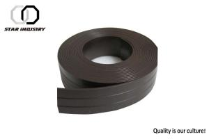 China Self Adhesive Magnet Rubber Sheet Flexible Die Cut For Daily Necessary Industry on sale