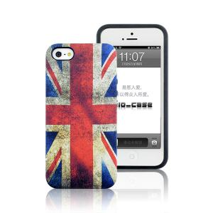 China 2014  Wholesale National Flag  PC and TPU Phone  Case  for iPhone 5S on sale