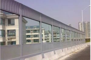 China Powder Coating Perforated Metal Plate Sound Barrier Walls For Home / Industrial Plants on sale