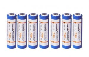 China 3.7V Electronic Cigarette Battery , lithium ion rechargeable battery on sale