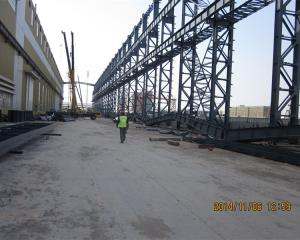 Quality customized prefabricated industrial heavy large span metal structure steel for sale