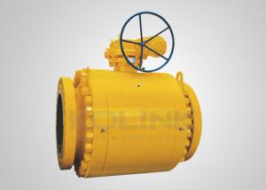 China Forged Steel Trunnion-mounted Ball Valve Double Block & Bleed (DBB) on sale