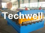 Widespan IBR Roll Forming Machine With Hydraulic Cutting, Panasonic PLC Control System