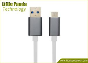 China Aluminum Plated USB Data Cable USB 2.0 to USB 3.1 Type C USB Charging Cable Male to Male on sale