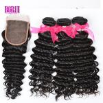 Remy Human Hair Deep Wave Bundles Full Thick