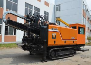 China 66 Ton Hdd Directional Drilling / Trenchless Boring Machine Ratation Hydraulic System on sale