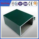 China big dimension profile extruded aluminium for unitized curtain walls wholesale