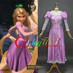 China Princess Dress Wholesale Rapunzel Princess Cosplay Dress Party Halloween Christmas Sexy Carnival Costume on sale