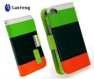 China Multi-function Wallet Phone Cases For iPhone5 Case Cover With Card Slots on sale