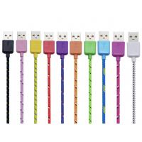 China New Products Nylon Woven Mobile Smart Phone Accessories Micro Type-C Fast Charging Data on sale