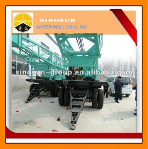 China trailer mounted drilling rig for water well on sale