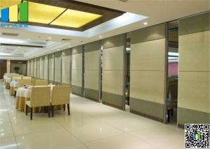 China Melamin Hanging Sliding Door Aluminum Frame Panel Width 1000 mm on sale
