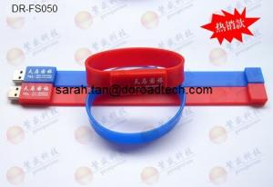 China Silicone Bracelet USB Flash Drives DR-FS050 on sale