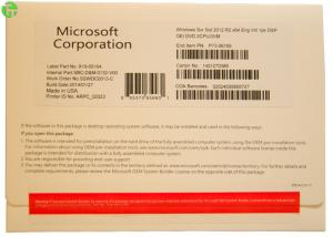 Quality Genuine Windows Server OEM Standard 2012 Retail Box 32bit 64bit , Win Server for sale