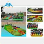 Customized Inflatable Amusement Park Adults Giant Inflatable Obstacle Course Inflatable Obstacle Run