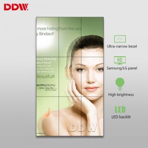 China 500nits High Brightness Large Video Wall Displays , 55'' Videowall LCD TV Screens on sale