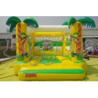 Happy Jungle Commercial Inflatable Bouncers Mini Bouncy Castle For Amusement Park