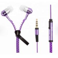 zipper Customized Promotional Gifts , LED Light Up Headphones Customize Color