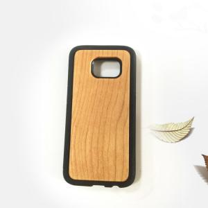 China Samsung S7 Wood Cell Phone Case , Bamboo Texture Wooden Phone Cover on sale