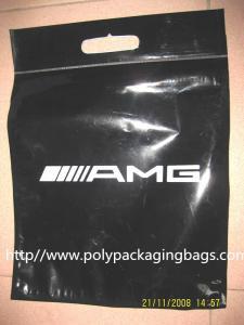 China Da parte inferior amigável do punho do laço de ECO sacos polis Gusseted para a roupa on sale