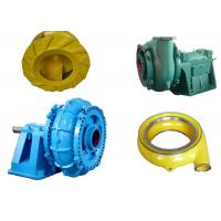 Horizontal Sand Dredging Pump Spare Parts For Gravel Slurry Transfering