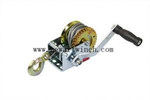 China 600lbs Steel A3 Color Zinc Plated Hand Operated Winch, Small Hand Crank Winch on sale