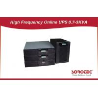 Black Color Rack Mounted Ups Battery Backup With Abm Battery For Chip Fabrication