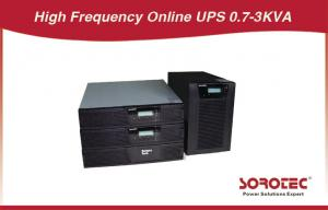 China Black Color Rack Mounted Ups Battery Backup With Abm Battery For Chip Fabrication on sale