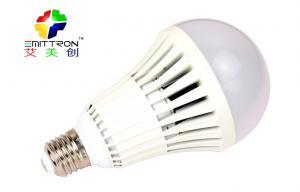 China AC 220V SMD E26 / B22 LED Globe Bulbs 12W 1000 Lm 3000K For Room Lights Lamp on sale