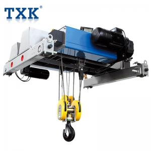 China European Design Dual Speed Electric Wire Rope Hoist With Motorized Trolley CE Approved on sale