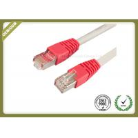 10G / 1000 BASE -T Cat6 Network Patch Cord With Gold Plated Connector