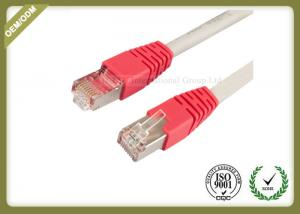 China 10G / 1000 BASE -T Cat6 Network Patch Cord With Gold Plated Connector supplier