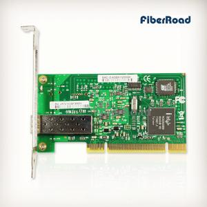 China PCI 1000Base-FX SFP Port Fiber NIC (Intel 82545EB Based) on sale