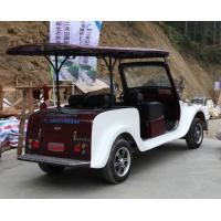 4 Seats Electric Vintage Cars With Powerful Motor Classic Tour Car Old Style