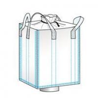 Duffle Top / Funnel Bottom Jumbo Bags/Ton Bags/Bulk Bags with 100% PP(90*90*120)