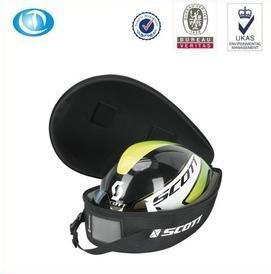 China Dustproof hard eva bicycle helmet case bag with zipper on sale