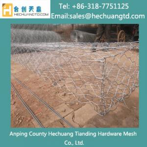 China Hot Dipped Galvanized Gabion Box on sale