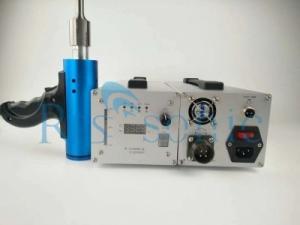 China Portable Ultrasonic Welder Hand Gun , Ultrasonic Welder Machine For Auto Spot Welding on sale