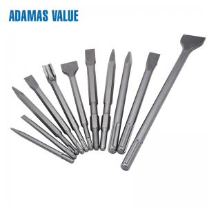 China Chisel Sds Drill Bits 280-400mm Length Round Or Hexagon Shape For Masonry on sale