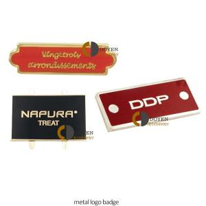 China luggage accessory metal name tag leather name tag pvc handbag logo labels supplier on sale