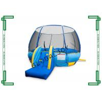 4m Diameter Trampoline Inflatable Bouncers For Kids With Safe Netting