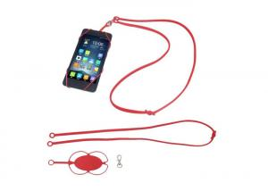 China Custom Mobile Phone Accessories , Silicone Cellphone Case Cover Holder Sling Necklace Lanyard on sale