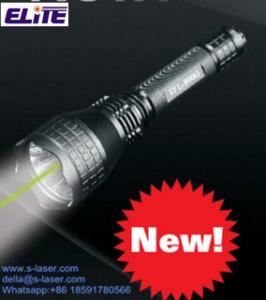 China FDA certificou a lanterna elétrica tática do laser do verde incorporado da luz branca LED+ de IP66 TF-800G e a almofada da imprensa/interruptor DE LIGAR/DESLIGAR do botão on sale