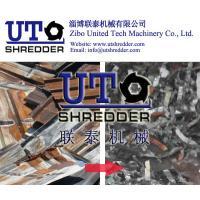 China scrap steel sheet , waste PPGI treatment machine, PPGI crusher, alumina foil, steel foil shredder / crusher / recycling on sale